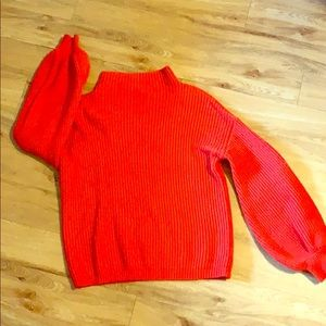 Orange Sweater / perfect for the fall